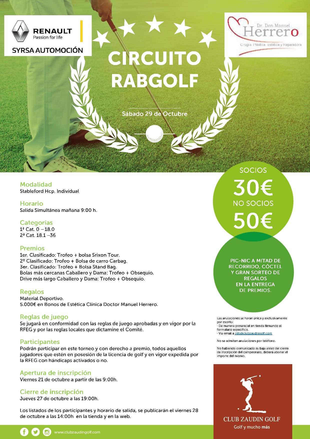 Torneo Rabgolf (clínica Herrero)