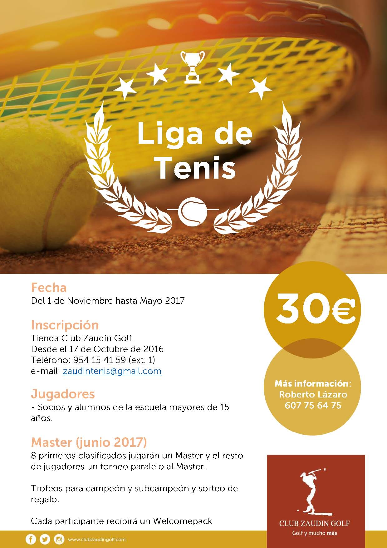 Liga de Adultos de Tenis 2016