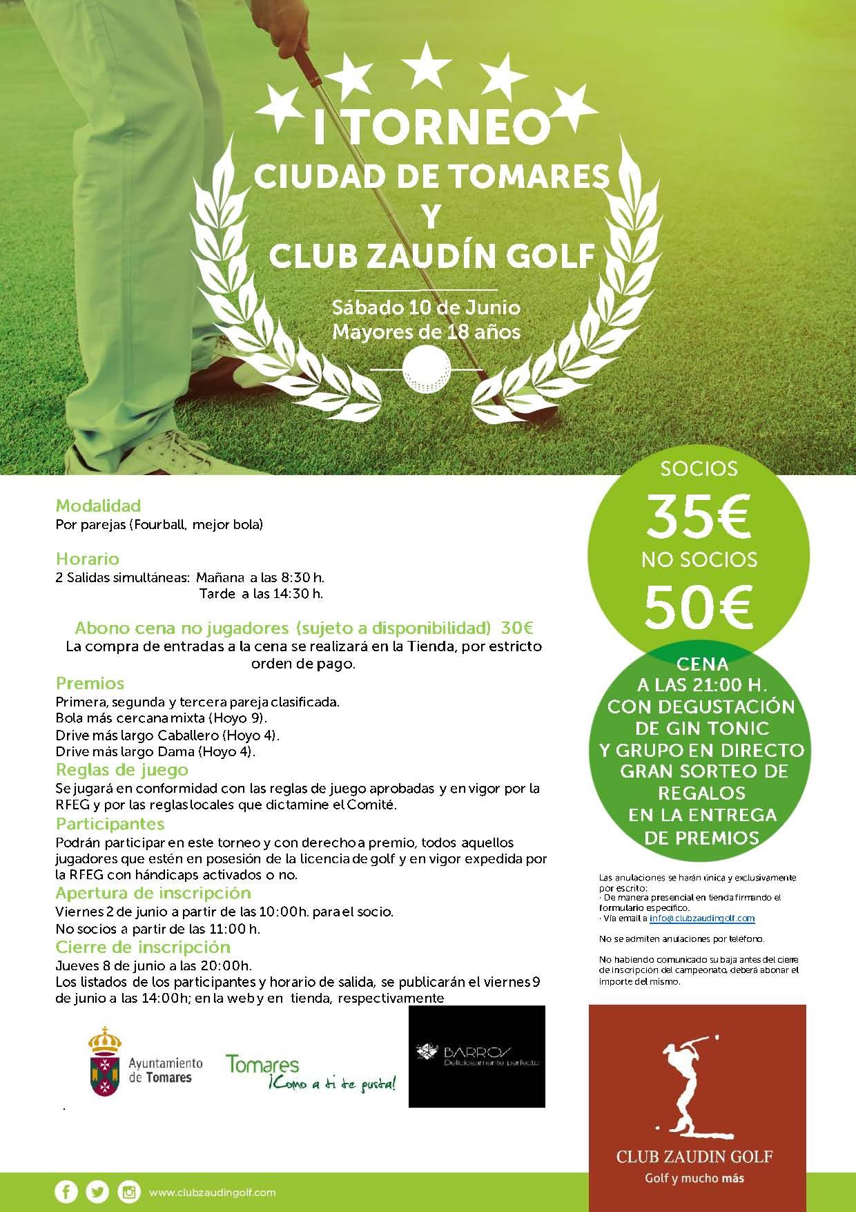 Torneo de Golf Ciudad de Tomares