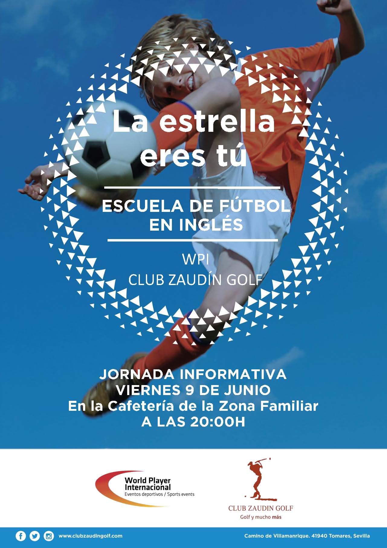 Escuela de Futbol. Jornada Informativa
