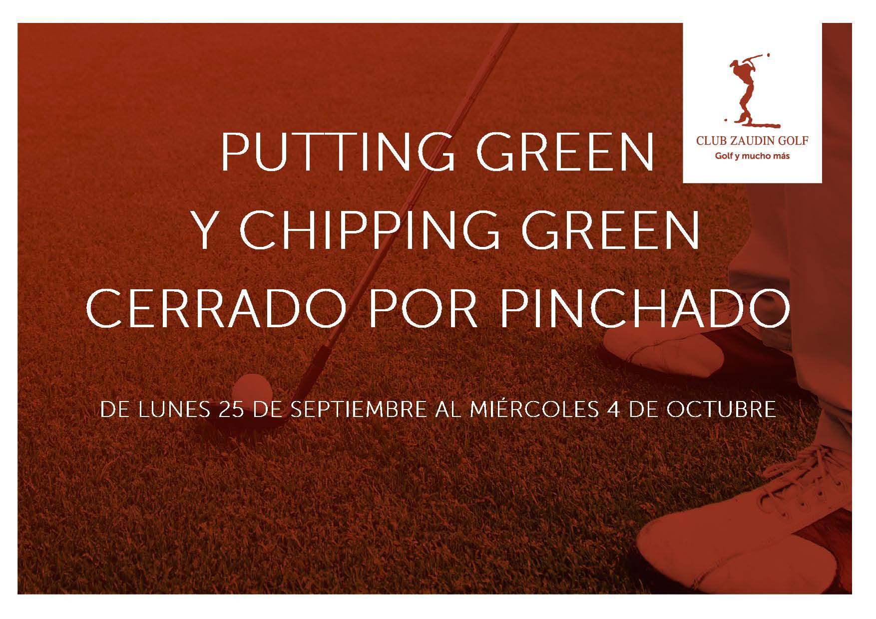 Pinchado Putting Green y Chipping Green
