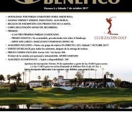 Cartel Torneo Golf La Mafia
