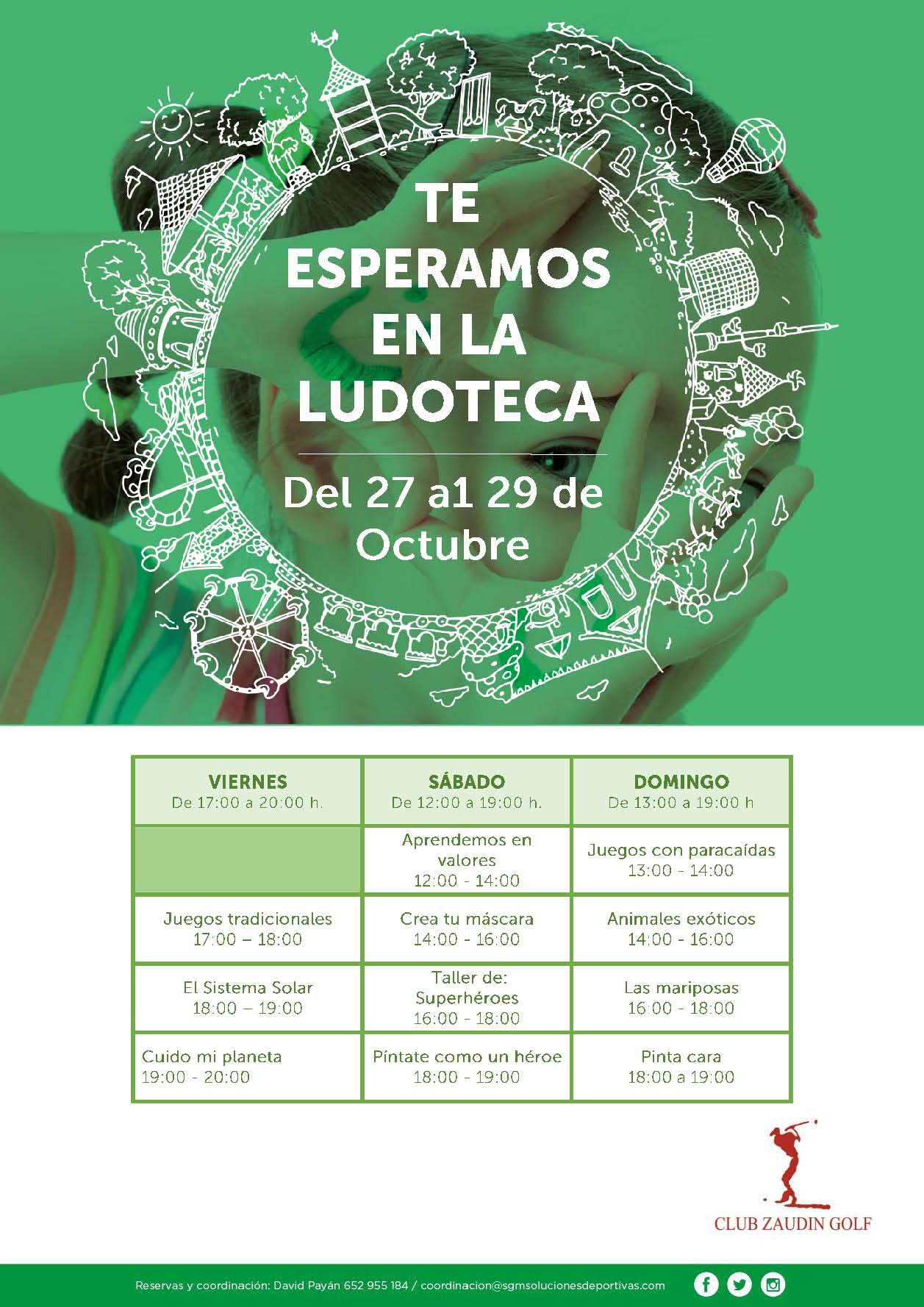 LUDOTECA 27-29 OCTUBRE