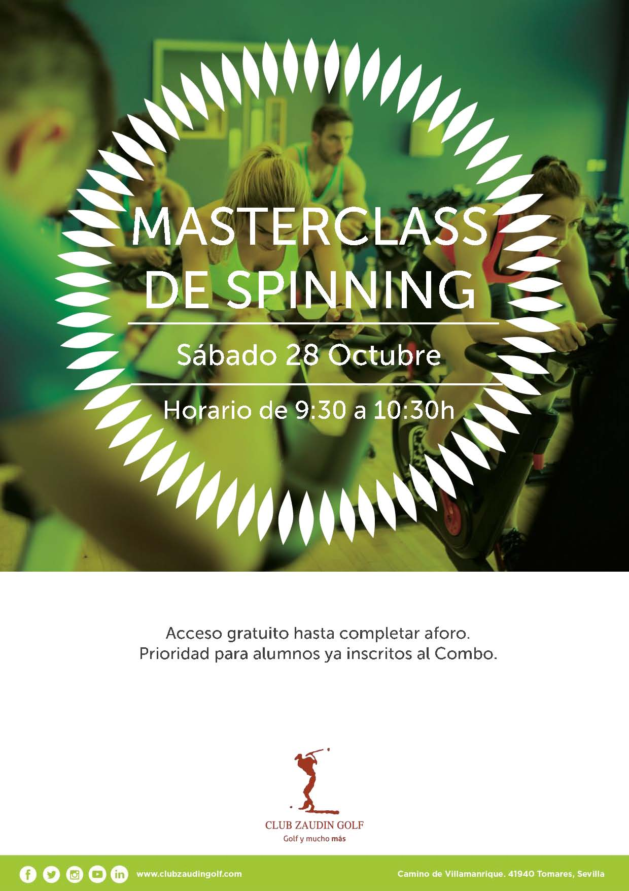 Máster de Spinning
