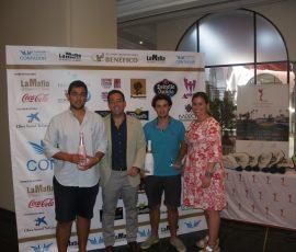 Pareja Ganadora Scratch D. Eloy Gallego y D. Carlos Luengo