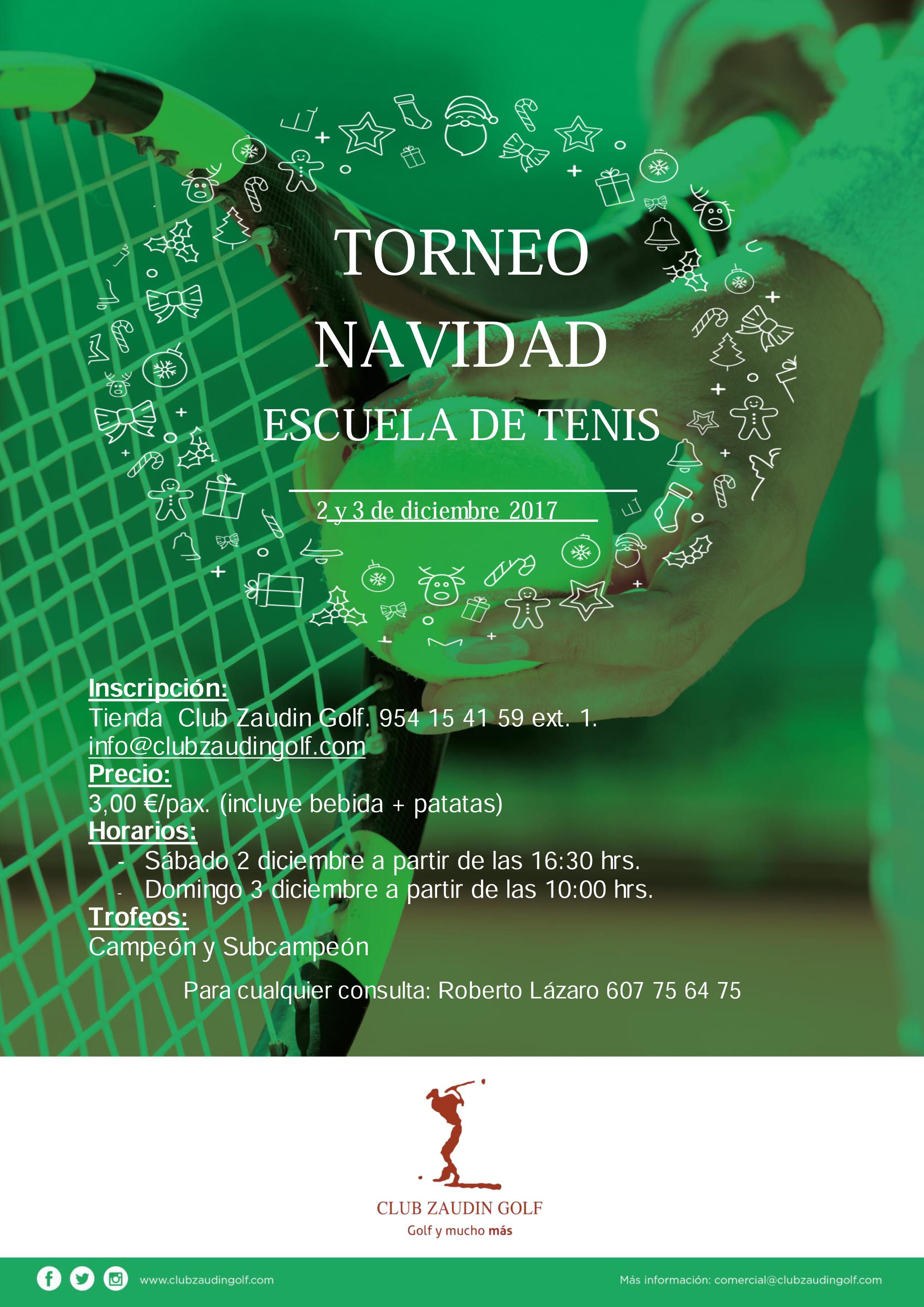 Torneo de Navidad de Tenis