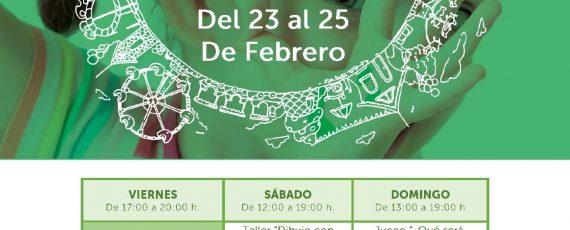 23, 24 y 25 de Febrero Ludoteca Zaudín