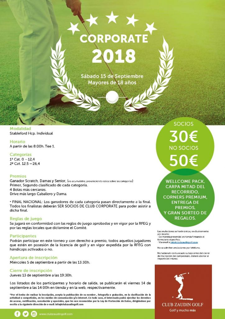Torneo Corporate Golf