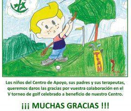 agradecimiento niños centro infantil esperanza de triana