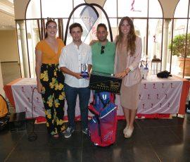 1er. Clasificado de 1ª Categoría y Ganador Scratch D. Carlos Luengo