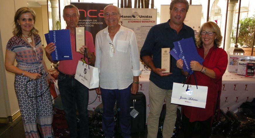 Pareja Ganadora Scratch D. Ricardo Lantero y D. Martín Toro