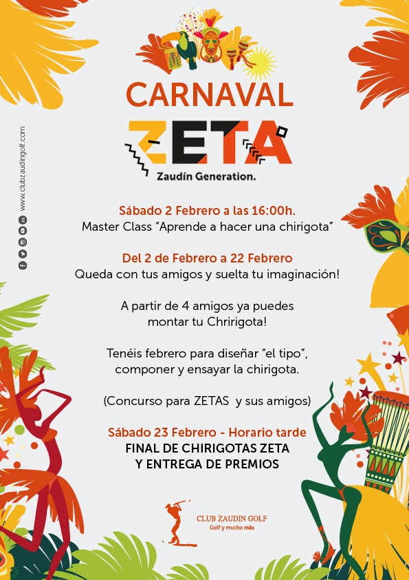 Preparación Carnaval ZETA