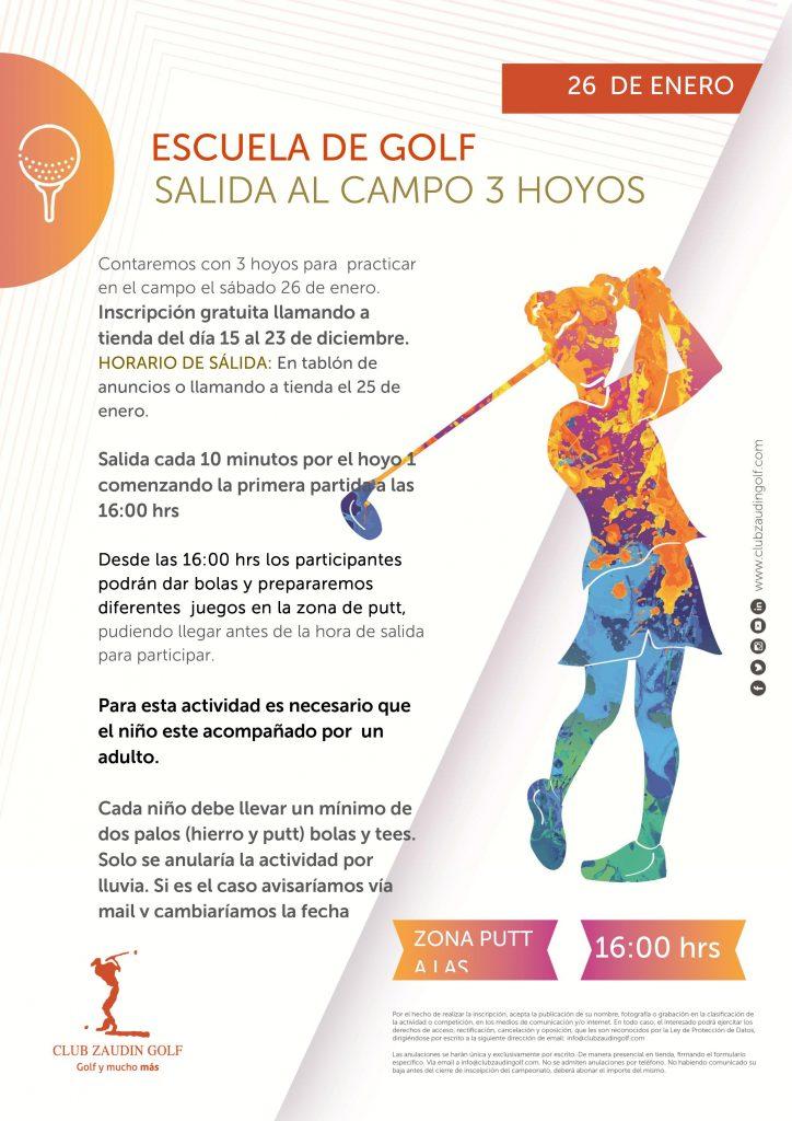 Salida Tarde Hoyos 1,2,3