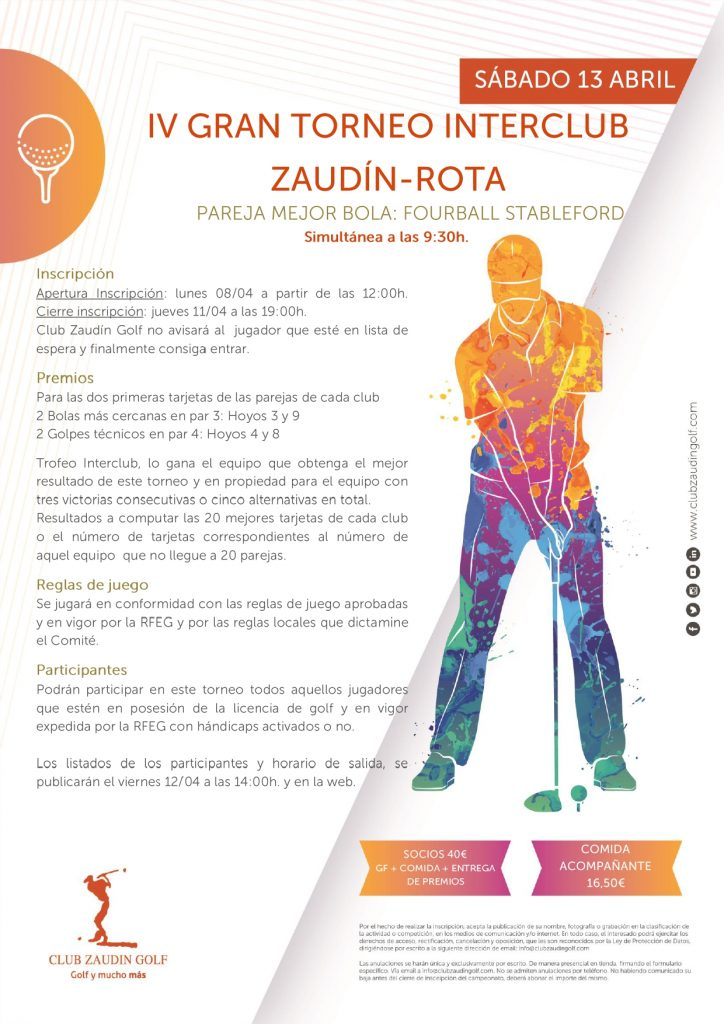 Interclub Zaudín-Rota