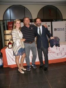 Bola más Cercana Hoyo 9 D. Antonio Pérez, entrega el premio Luis Álvaro de Lexus