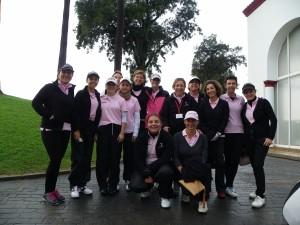 Equipo Femenino Club Zaudin Golf