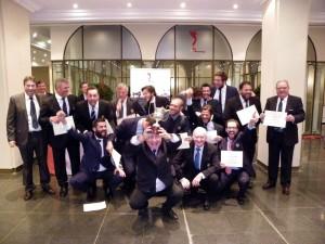 Equipo Masculino Club Zaudin Golf. Ganador de la Copa Guadalquivir
